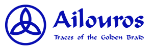Ailouros logo traces of the golden braid